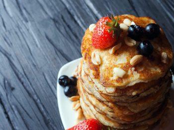 Saludables Pancakes de Calabaza