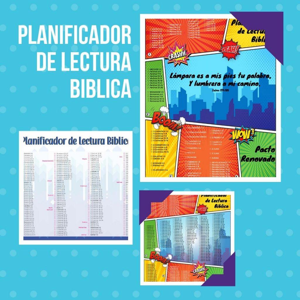 Planificador práctico para leer la biblia todos los días con tu familia